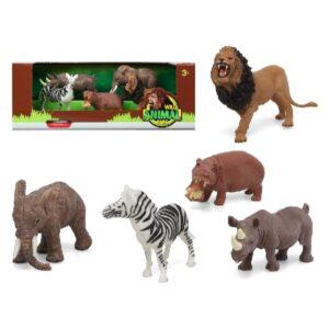 6 Figuras de animais Jungle