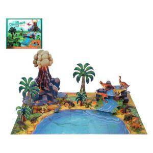 Conjunto Dinossauros Real (30 x 25 cm)