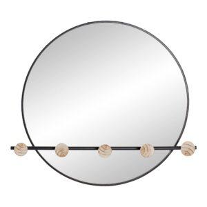 Bengaleiro de parede DKD Home Decor Ferro Espelho (61 x 8 x 58 cm)