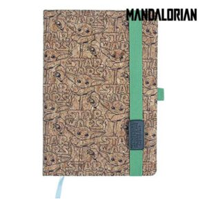 Caderno de Notas The Mandalorian Cortiça A5