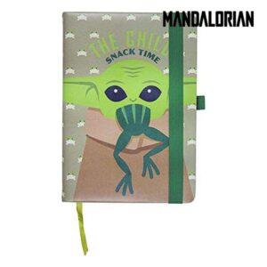 Caderno de Notas The Mandalorian Verde A5