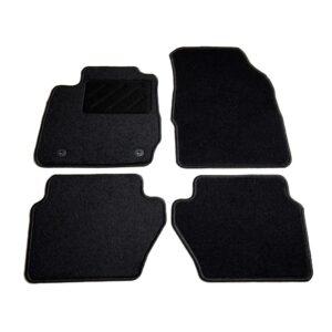 4 pcs conjunto tapetes de automóveis para Ford Fiesta VI  - PORTES GRÁTIS