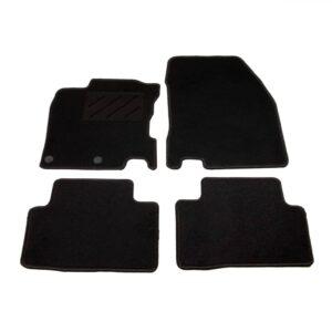 4 pcs conjunto tapetes de automóveis para Nissan Qashqai  - PORTES GRÁTIS