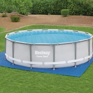 Bestway Pano para chão de piscinas Flowclear 488x488 cm - PORTES GRÁTIS