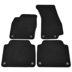 4 pcs conjunto tapetes de automóveis para Audi A8 - PORTES GRÁTIS