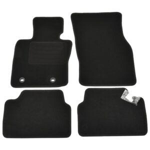 4 pcs conjunto tapetes de automóveis BMW Mini 3 F55 5 portas - PORTES GRÁTIS