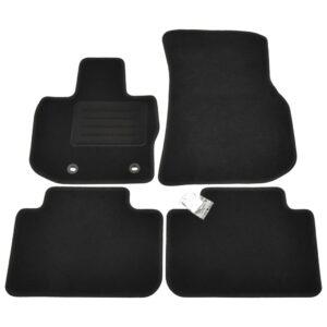 4 pcs conjunto tapetes de automóveis para BMW X4 (G02) - PORTES GRÁTIS