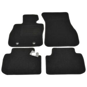 4 pcs conjunto tapetes de automóveis para BMW F40 (série 1) - PORTES GRÁTIS