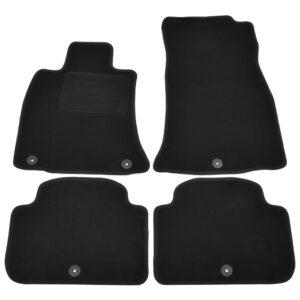 4 pcs conjunto tapetes de automóveis para Kia Stinger (CK) - PORTES GRÁTIS