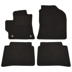 4 pcs conjunto tapetes automóveis para Toyota Corolla Hybride - PORTES GRÁTIS