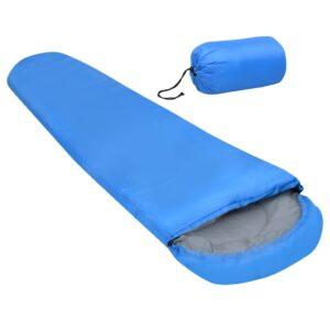 Saco-cama leve 15 ℃ 850 g azul - PORTES GRÁTIS