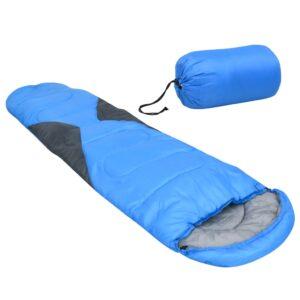 Saco-cama 5 ℃ 1400 g azul - PORTES GRÁTIS