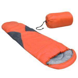 Saco-cama 5 ℃ 1400 g laranja - PORTES GRÁTIS