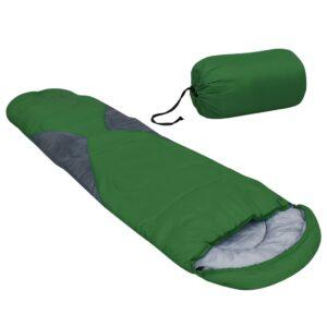 Saco-cama 5 ℃ 1400 g verde - PORTES GRÁTIS