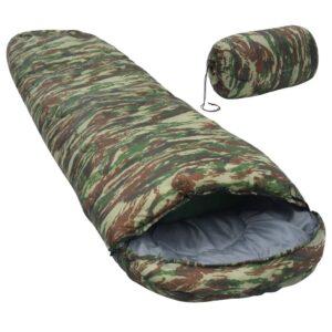 Saco-cama 5 ℃ 1400 g camuflagem - PORTES GRÁTIS