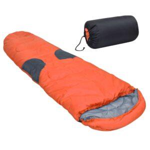 Saco-cama -5 ℃ 2000 g laranja - PORTES GRÁTIS