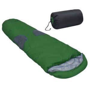 Saco-cama -5 ℃ 2000 g verde - PORTES GRÁTIS