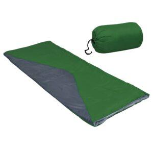 2 Sacos-cama campismo leve tipo envelope 1100g 10 ºC verde - PORTES GRÁTIS