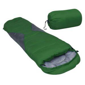 Saco-cama campismo tipo múmia infantil leve 670g 10 ºC verde - PORTES GRÁTIS