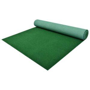 Relva artificial com pitões 4x1 m verde - PORTES GRÁTIS