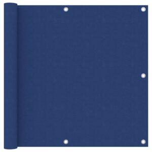Tela de varanda 90x600 cm tecido Oxford azul - PORTES GRÁTIS