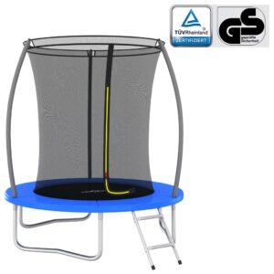 Conjunto de trampolim redondo 183x52 cm 80 kg - PORTES GRÁTIS