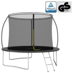 Conjunto de trampolim redondo 305x76 cm 150 kg - PORTES GRÁTIS
