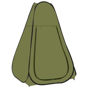 Tenda de duche verde - PORTES GRÁTIS