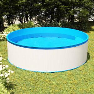 Piscina splasher 350x90 cm branco - PORTES GRÁTIS