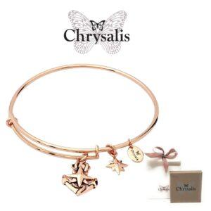 Pulseira Chrysalis® North Star - Rose Gold - Tamanho Adaptável - Com Caixa ou Saco Oferta