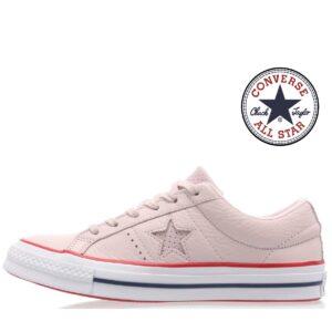 Converse® Sapatilhas  All Star em Pele Rosa -160623C