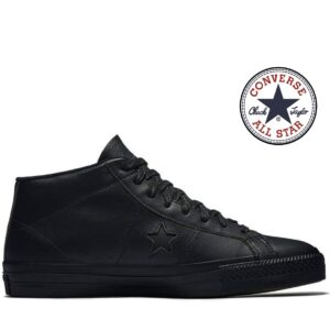 Converse® Sapatilhas One Star Pro Mid Black
