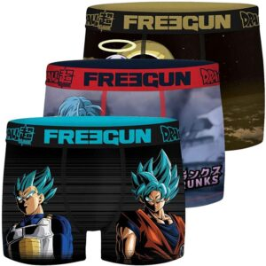 Pack Boxers Dragon Ball Super 10-12 Anos (Refurbished A+)