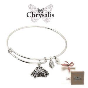 Pulseira Chrysalis® Crown - Prateado - Tamanho Adaptável - Com Caixa ou Saco Oferta