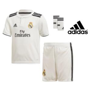 Adidas® Conjunto de Futebol Oficial Real Madrid - 3 Peças