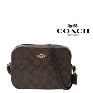 Coach® Mala Camera mini in Signature - 91677