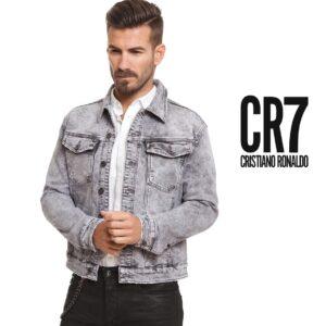 CR7® Casaco Padrão Clássico para Homem Casual