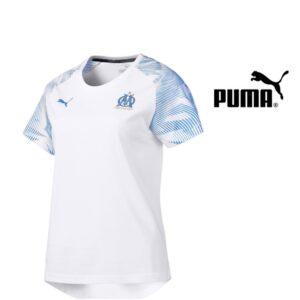 Puma® Camisola Oficial Marselha Casual 100% Algodão