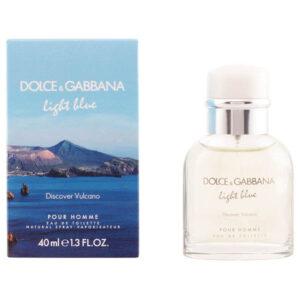 Perfume Homem Light Blue Discover Vulcano Dolce & Gabbana EDT (40 ml)