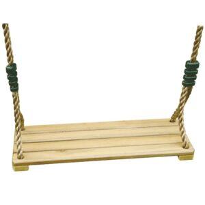 TRIGANO Assento de baloiço madeira p/ conjuntos de 1,9-2,5 m J-478 - PORTES GRÁTIS