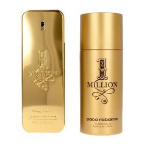 Conjunto de Perfume Homem 1 Million Paco Rabanne edt (2 pcs)