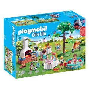 Playset City Life Garden Party Playmobil 9272 (38 pcs)