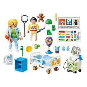 Playset City Life Children's Hospital Ward Playmobil 70192 (47 pcs)