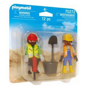Playset City Life Workers Playmobil 70272 (12 pcs)