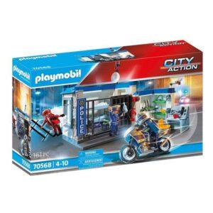 Playset City Action Prison Escape Playmobil 70568 (161 pcs)