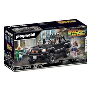 Playset Back to the Future Pick-up Marty Playmobil 70633 (35 pcs)