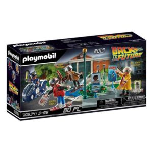 Playset Back to the Future Playmobil 70634 (80 pcs)