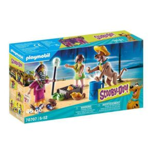 Playset Scooby Doo Aventure with Witch Doctor Playmobil 70707 (46 pcs)
