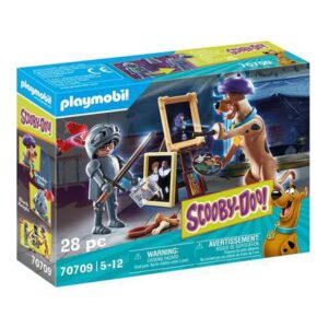Playset Scooby Doo Aventure with Black Knight Playmobil 70709 (28 pcs)