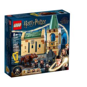 Playset Harry Potter Howarts Fluffy Encounter Lego 76387 (397 pcs)